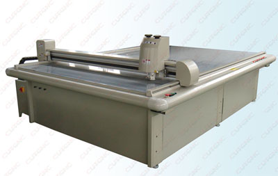 Paper tray sample cutting machine