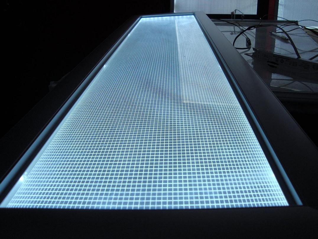 Large Format Digital Led Light Signage Display Groove 3d V